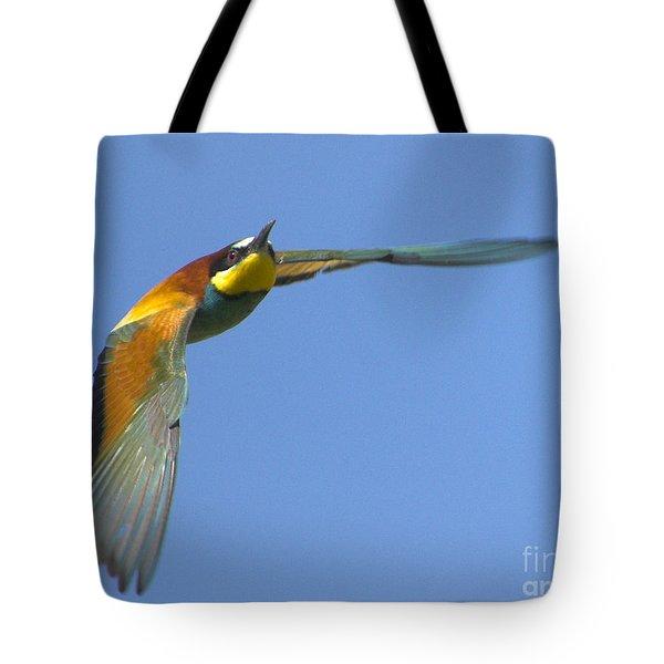 Abejaruco Tote Bag by Guido Montanes Castillo