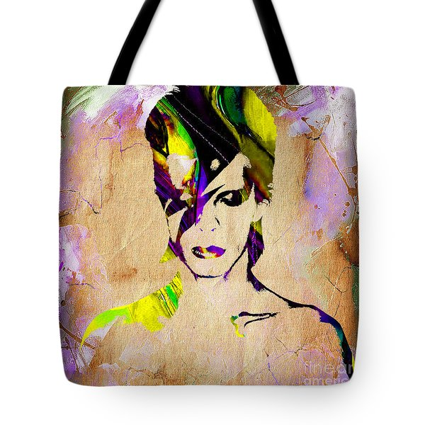 David Bowie Collection Tote Bag by Marvin Blaine