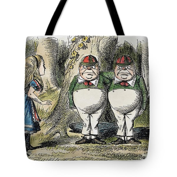 Dodgson: Looking Glass Tote Bag by Granger