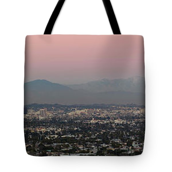 Elevated View Of Buildings In City Tote Bag by Panoramic Images