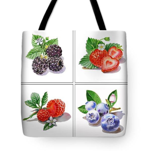 Farmers Market Delight  Tote Bag by Irina Sztukowski