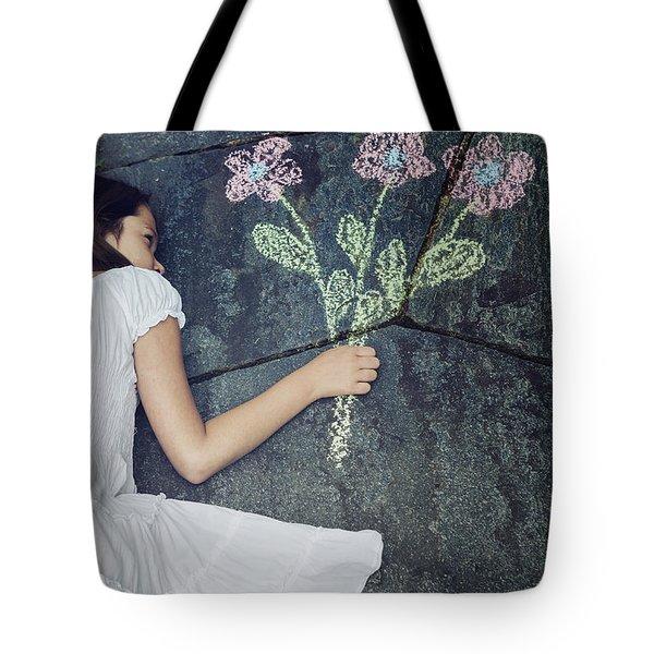 flowers Tote Bag by Joana Kruse