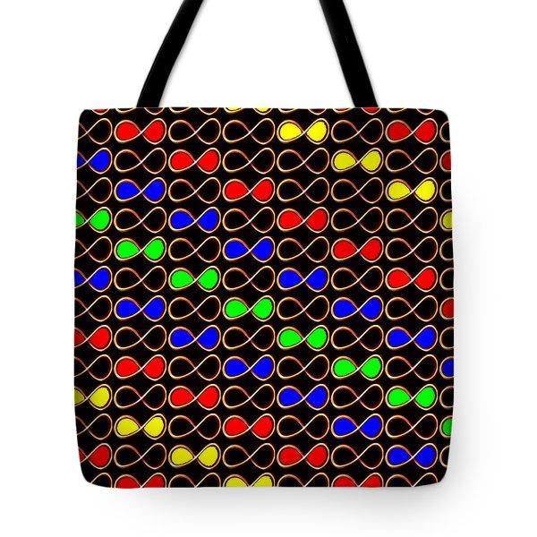 INFINITY Infinite SYMBOL Elegant Art and Patterns Tote Bag by NAVIN JOSHI