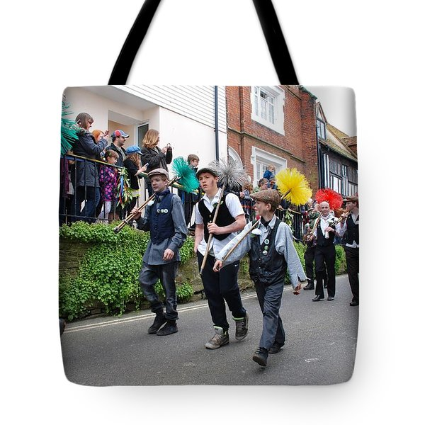 Jack In The Green Festival Hastings Tote Bag by David Fowler
