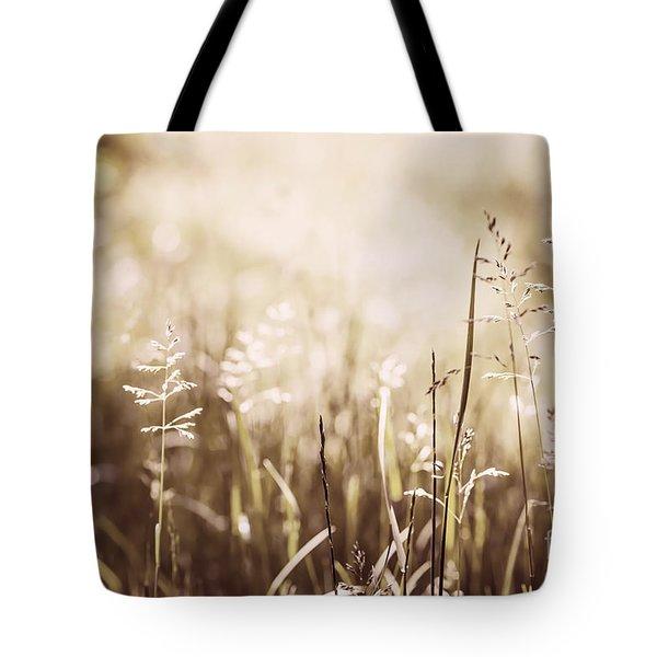 June grass flowering Tote Bag by Elena Elisseeva
