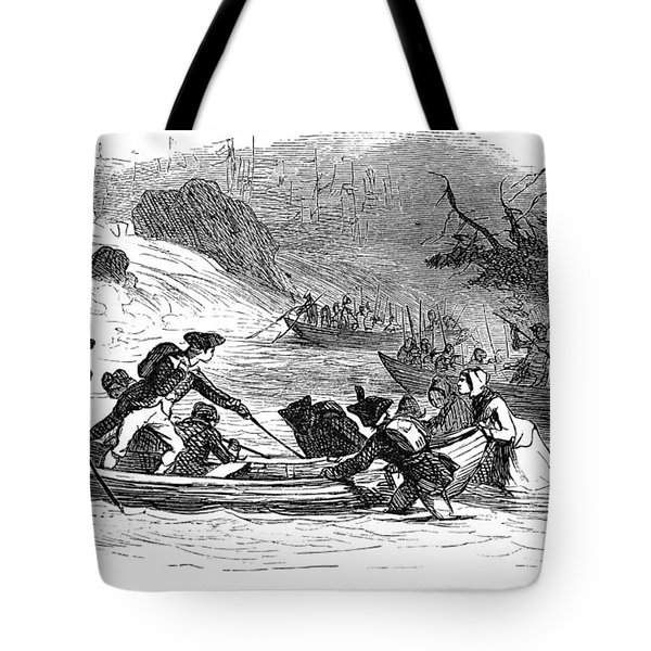 Quebec Expedition, 1775 Tote Bag by Granger
