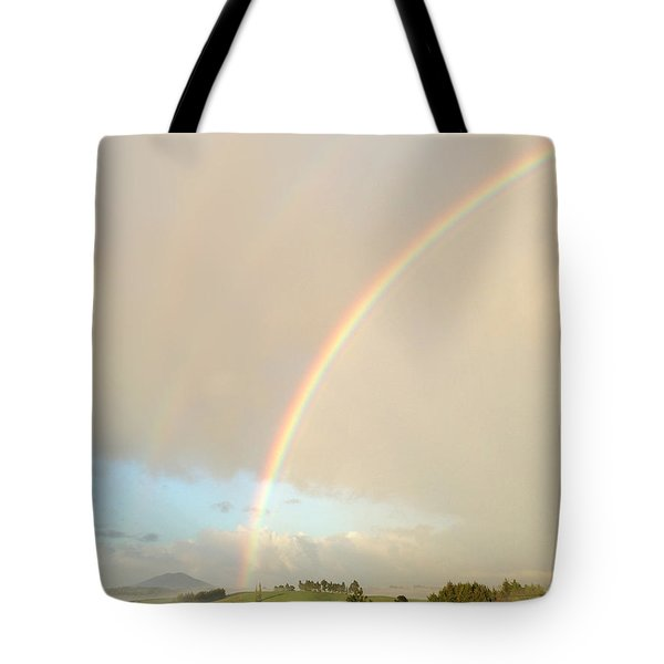 Rainbow Tote Bag by Les Cunliffe