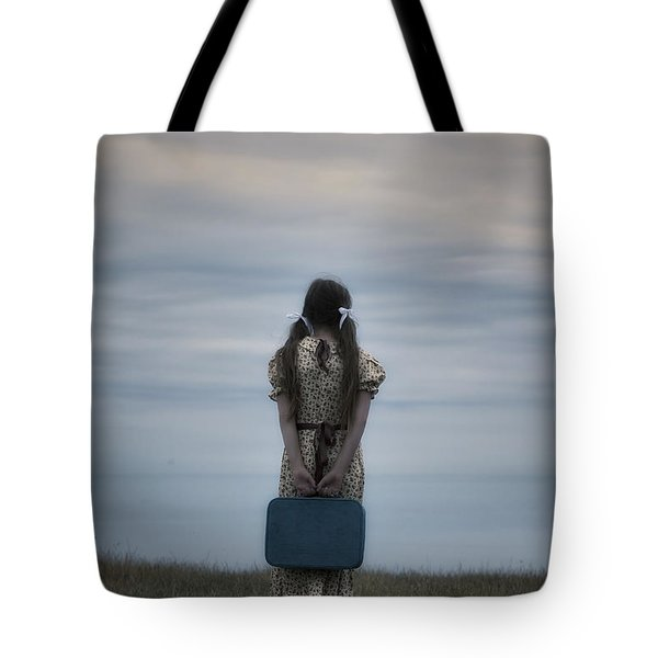 Refugee Girl Tote Bag by Joana Kruse
