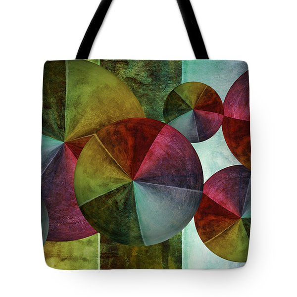 5 Wind Worlds Tote Bag by Angelina Vick