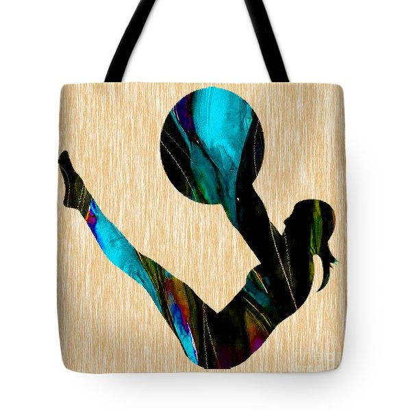 Fitness Tote Bag by Marvin Blaine