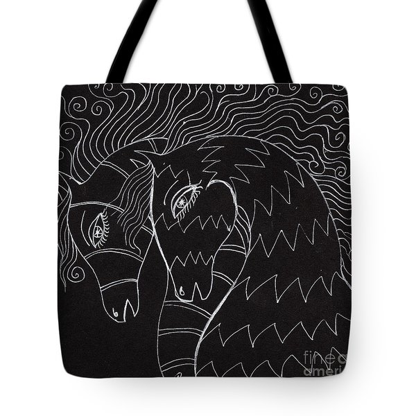 Horses Tote Bag by Angel  Tarantella