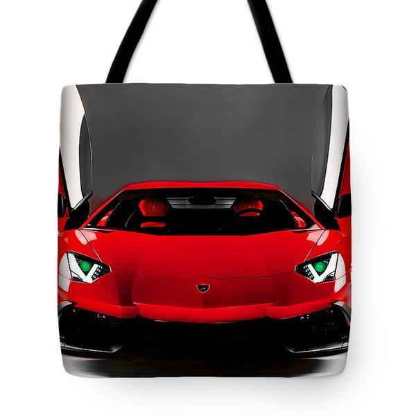 Lamborghini Tote Bag by Marvin Blaine