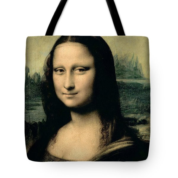 Mona Lisa Tote Bag by Leonardo Da Vinci