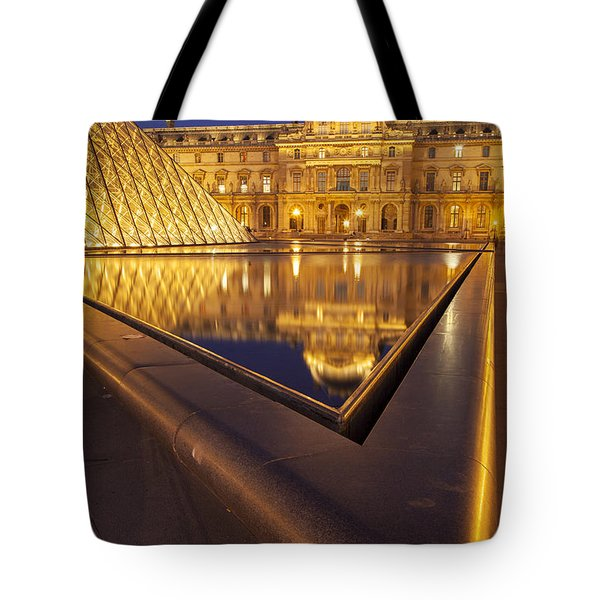 Musee Du Louvre Tote Bag by Brian Jannsen