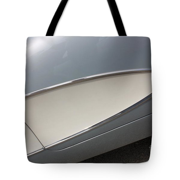 61 Corvette-grey-sidepanel-9244 Tote Bag by Gary Gingrich Galleries