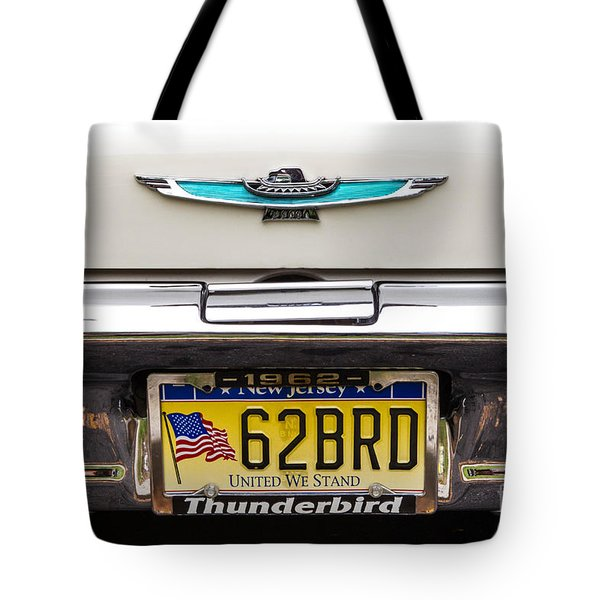 62 Brd Tote Bag by Jerry Fornarotto