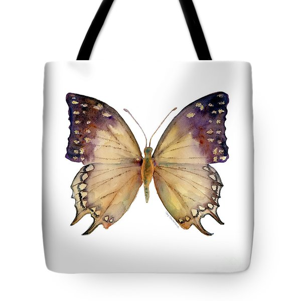 63 Great Nawab Butterfly Tote Bag by Amy Kirkpatrick