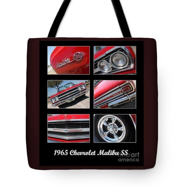 65 Malibu Ss Poster Tote Bag by Gary Gingrich Galleries