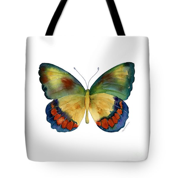 67 Bagoe Butterfly Tote Bag by Amy Kirkpatrick