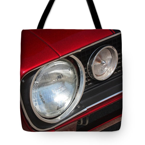 67 Camaro Ss Headlight-8724 Tote Bag by Gary Gingrich Galleries