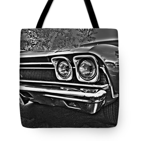 68 Chevelle Tote Bag by Cheryl Young