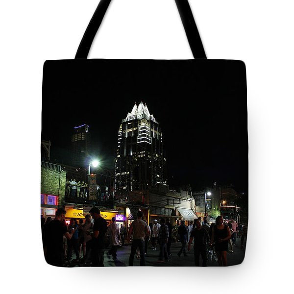 6th Tote Bag by Trish Mistric