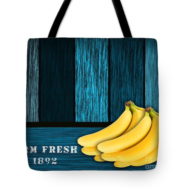 Bananas Tote Bag by Marvin Blaine
