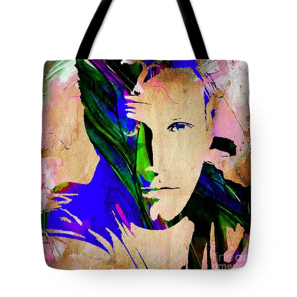 Ben Affleck Collection Tote Bag by Marvin Blaine
