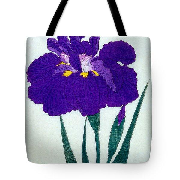 Japanese Flower  Tote Bag by Japanese School