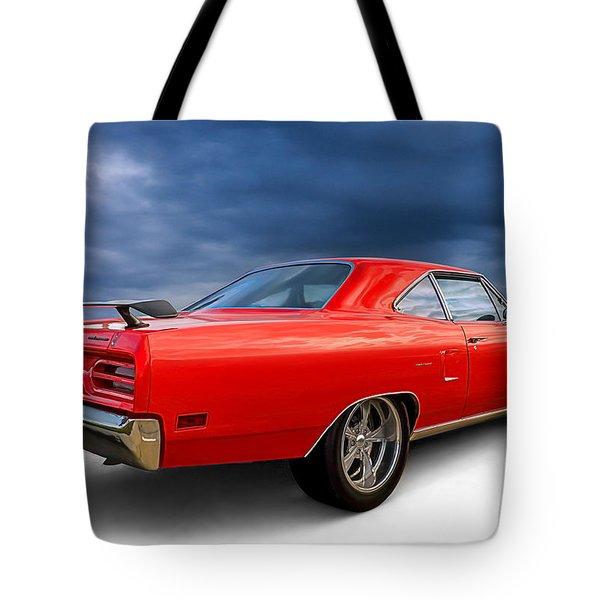 '70 Roadrunner Tote Bag by Douglas Pittman