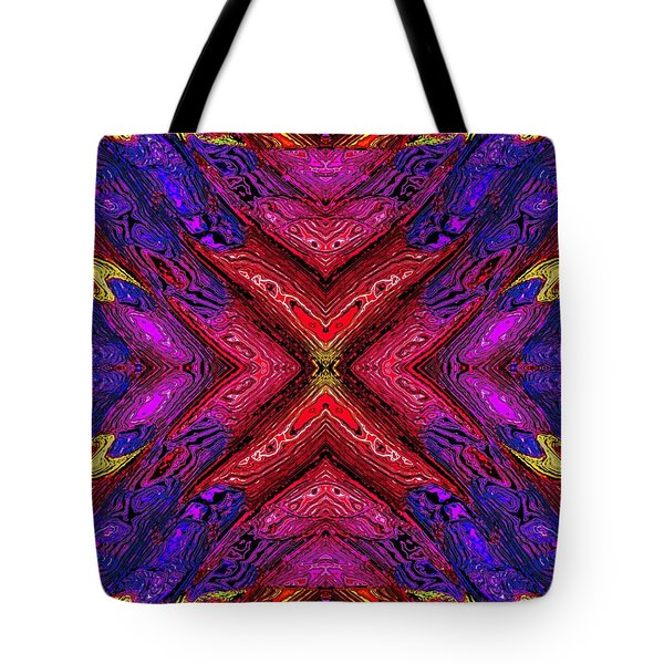 70's Blacklight Poster 6 Tote Bag by Darrell Arnold