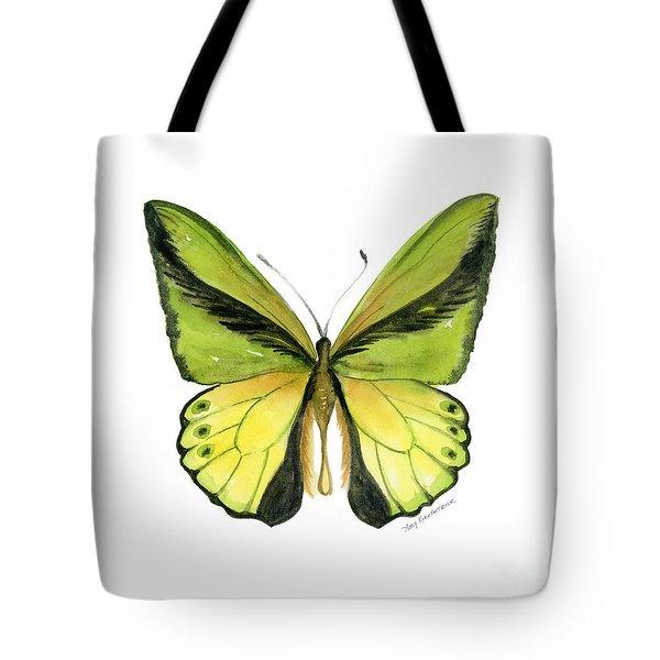8 Goliath Birdwing Butterfly Tote Bag by Amy Kirkpatrick