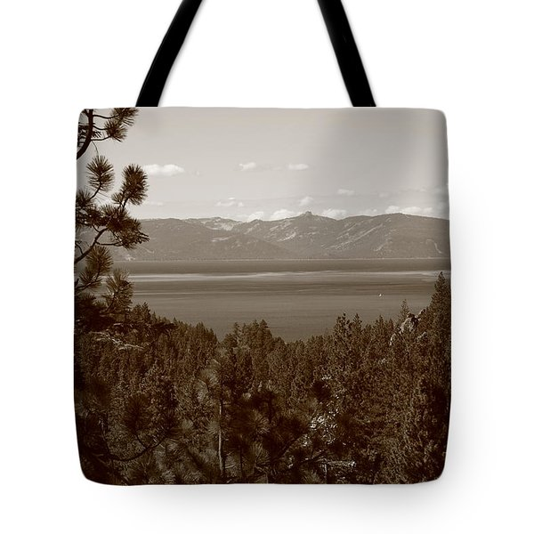 Lake Tahoe Tote Bag by Frank Romeo
