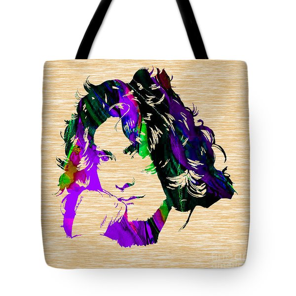 Robert Plant Collection Tote Bag by Marvin Blaine