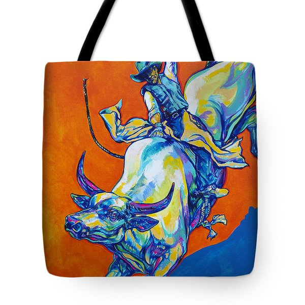8 Second Insanity Tote Bag by Derrick Higgins