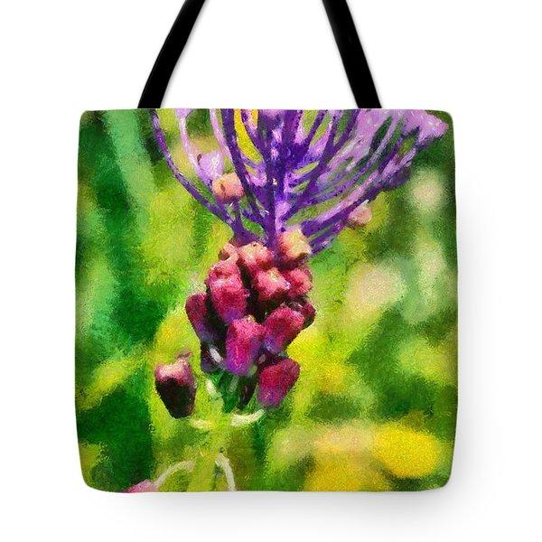 Spring Wild Flower Tote Bag by George Atsametakis