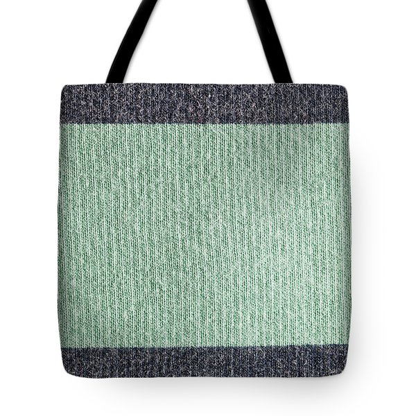 Wool Background Tote Bag by Tom Gowanlock