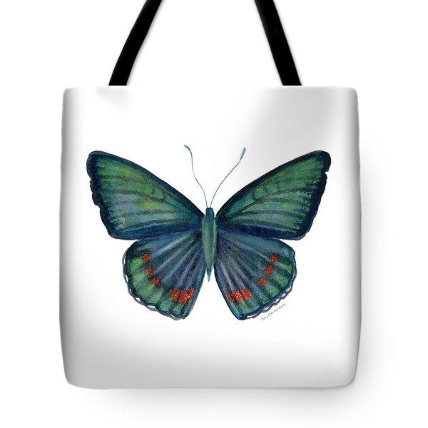 82 Bellona Butterfly Tote Bag by Amy Kirkpatrick