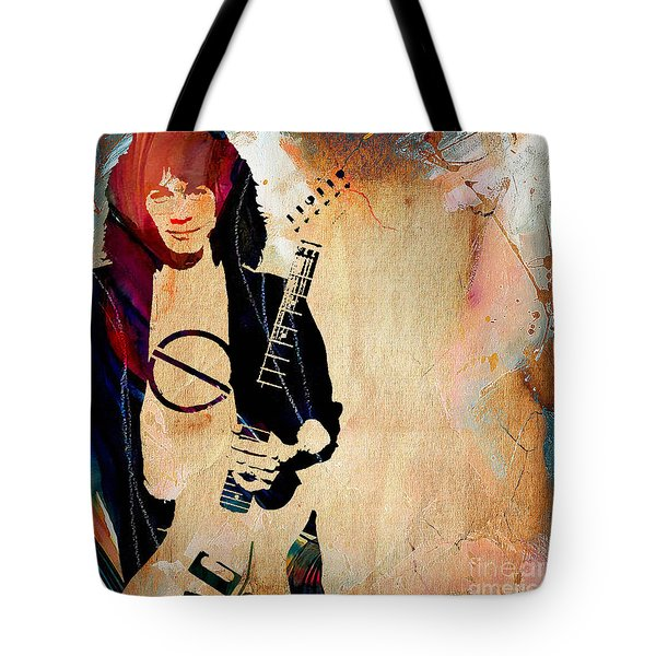Eddie Van Halen Collection Tote Bag by Marvin Blaine