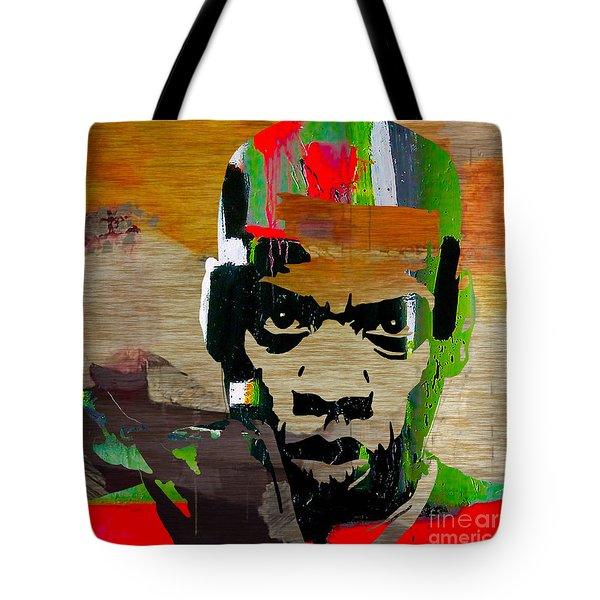 Jay Z Tote Bag by Marvin Blaine