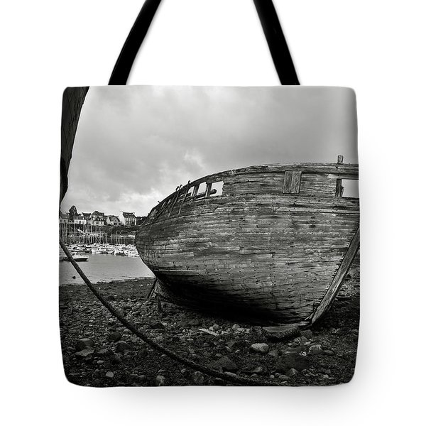 Old abandoned ships Tote Bag by RicardMN Photography