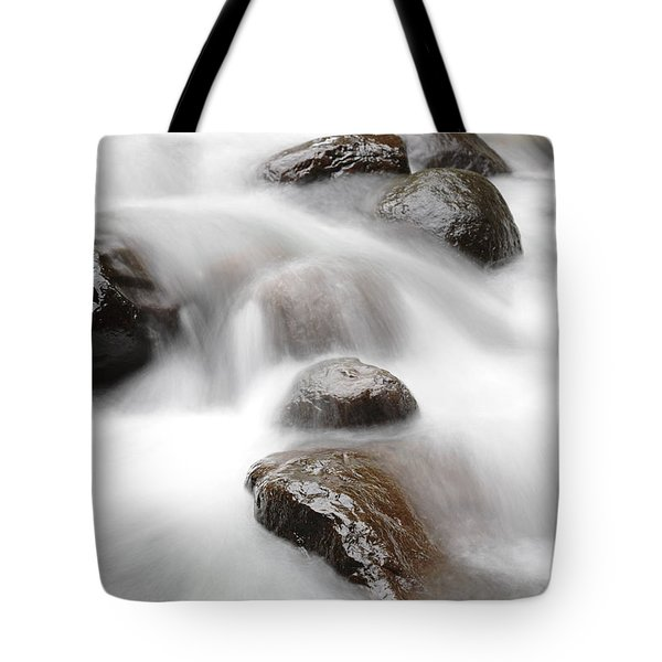 Stream Tote Bag by Les Cunliffe