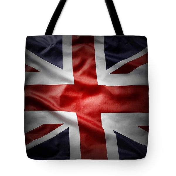 Union Jack  Tote Bag by Les Cunliffe