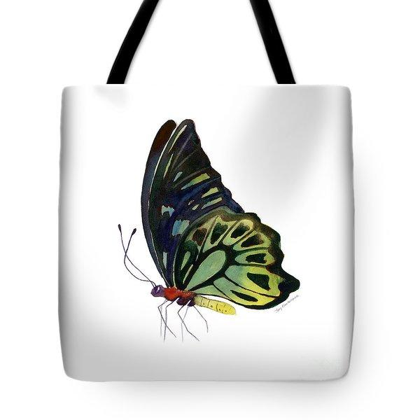 97 Perched Kuranda Butterfly Tote Bag by Amy Kirkpatrick