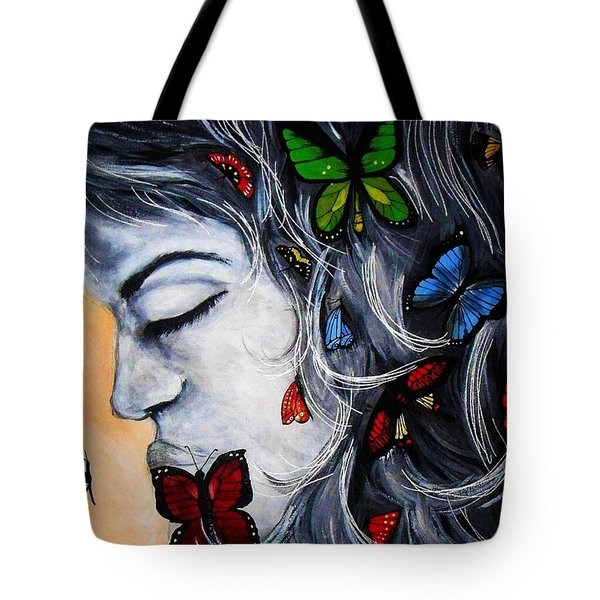 A Beautiful Daydream Tote Bag by Michelle Pope