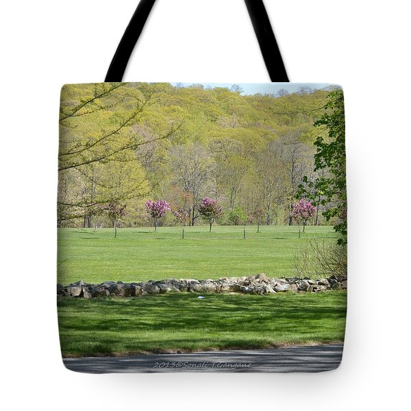A Beautiful Landscape Tote Bag by Sonali Gangane
