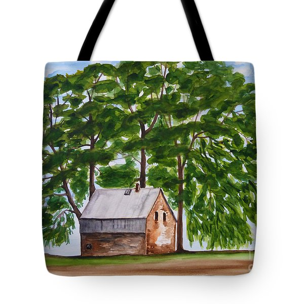 A Beautiful Place On Earth Tote Bag by Christine Huwer
