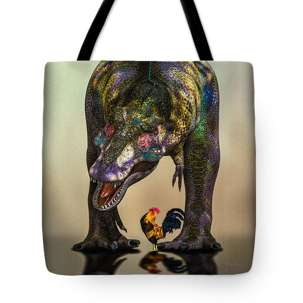 A Bird Are You Crazy Bro Tote Bag by Bob Orsillo