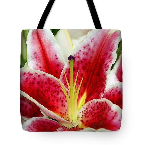 A Blooming Flower Tote Bag by Raven Regan