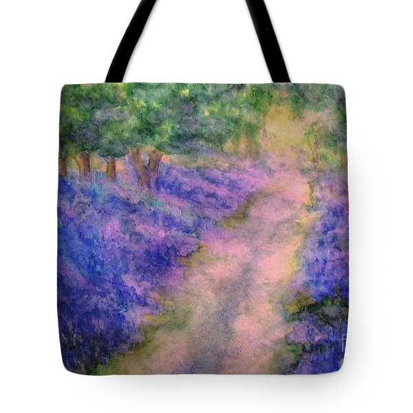A Bluebell Carpet Tote Bag by Hazel Holland